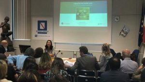 Carina Dantas speaks at Health Tourism Event