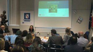 Carina Dantas speaks at Health Tourism Event